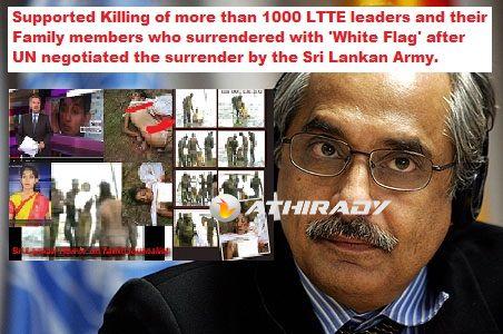 Image result for white flag killing in sri lanka